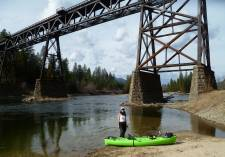 Paddle to the KVR Trestle